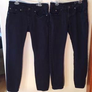"Bullhead Drakes Skinniest Black Jeans 29""x30"""